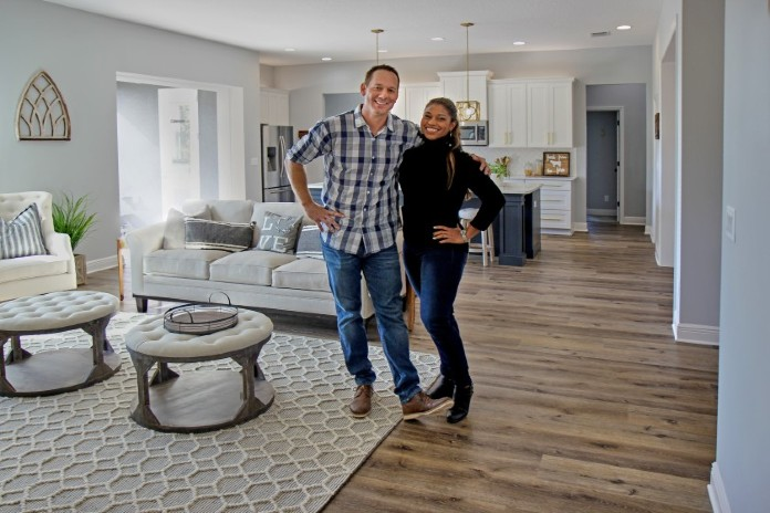 Beat-the-clock builds featured on HGTV's '100 Day Dream Home'